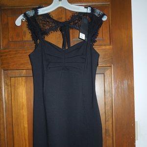Ladies Tt New York NWT Size 2 Black Dress